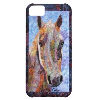 Caso del caballo iPhone5 de Crookshank Funda Para iPhone 5C