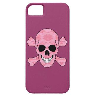 Caso del camuflaje del iPhone rosado 5 del cráneo iPhone 5 Case-Mate Coberturas
