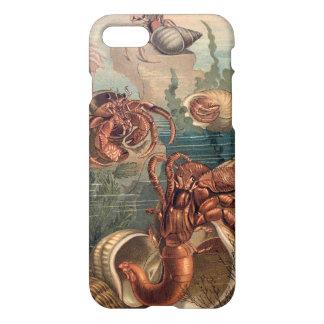 Caso del cangrejo de ermitaño funda para iPhone 7