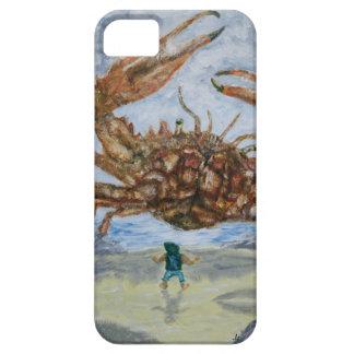 Caso del cangrejo (grande) iPhone 5 carcasas