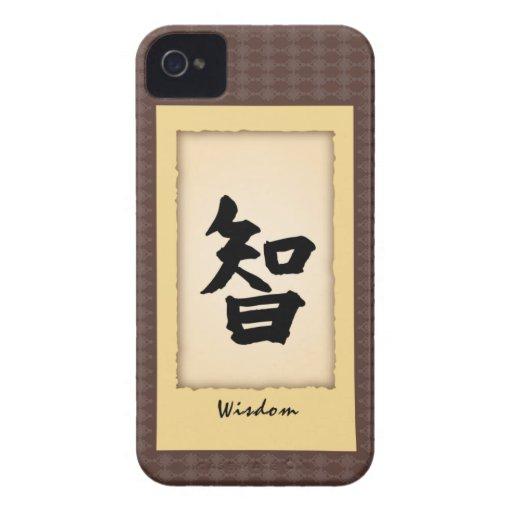 Caso del carácter chino iPhone4 - sabiduría iPhone 4 Carcasa