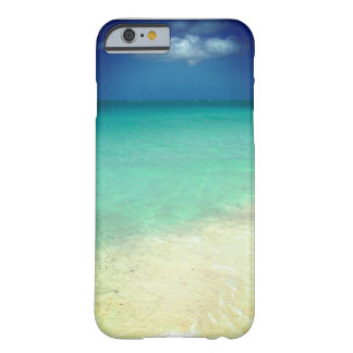 Caso del Caribe tropical del iPhone 6 de las aguas Funda De iPhone 6 Barely There
