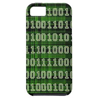 Caso del código binario iPhone 5 Case-Mate protector