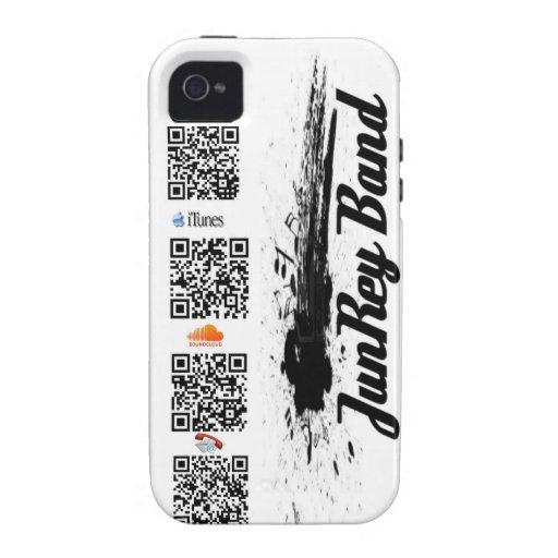 Caso del código de JRB QR Carcasa iPhone 4
