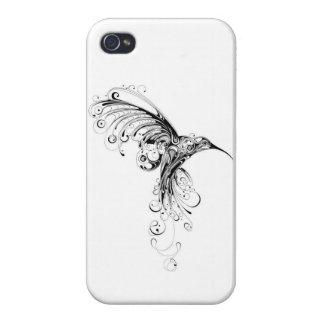 Caso del colibrí iPhone 4 cobertura
