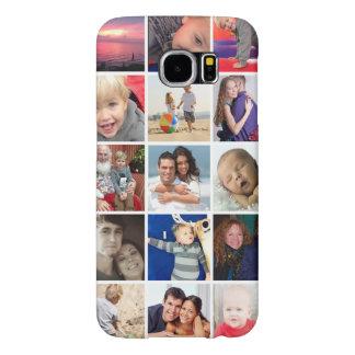 Caso del collage de la foto de la galaxia S6 Fundas Samsung Galaxy S6