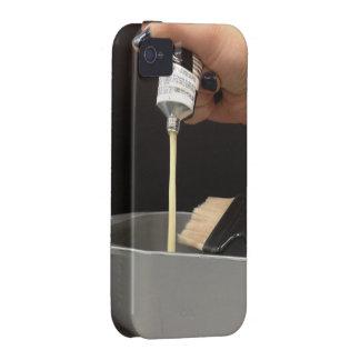 CASO DEL COLOR IPHONE DEL PELO VIBE iPhone 4 CARCASAS