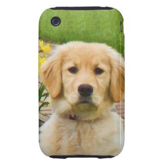 Caso del compañero del caso del iPhone 3 del perro Tough iPhone 3 Cárcasas