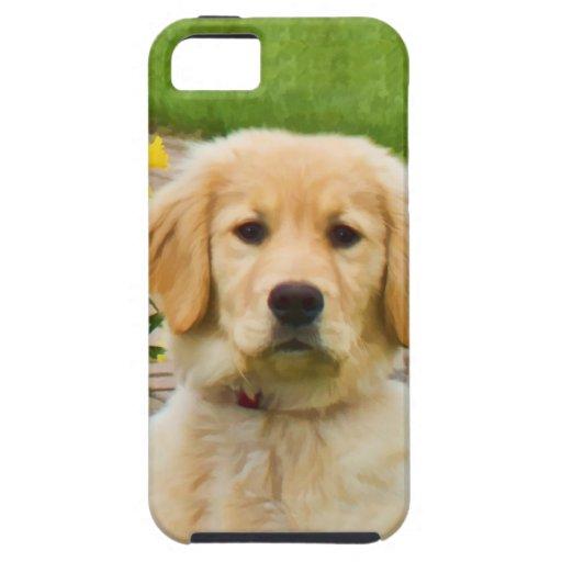Caso del compañero del caso del iPhone 5 del perro iPhone 5 Fundas