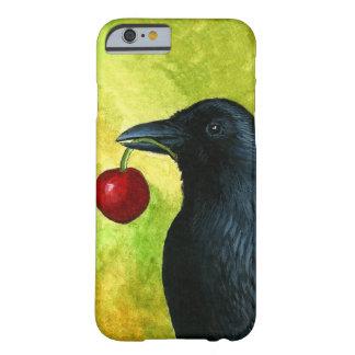 Caso del cuervo del cuervo del pájaro 55 para funda para iPhone 6 barely there