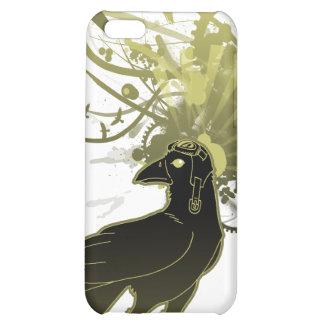 Caso del cuervo iPhone4 del kamikaze