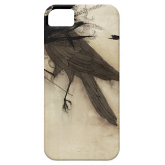 Caso del cuervo iPhone 5 Case-Mate carcasa