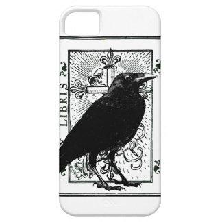Caso del cuervo y de la cruz iphone5 iPhone 5 Case-Mate carcasas