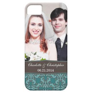 Caso del damasco del iPhone personalizado 5 de la iPhone 5 Protectores