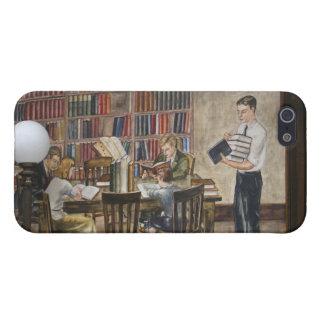 Caso del ~ de los murales 8 de WPA iPhone 5 Carcasa