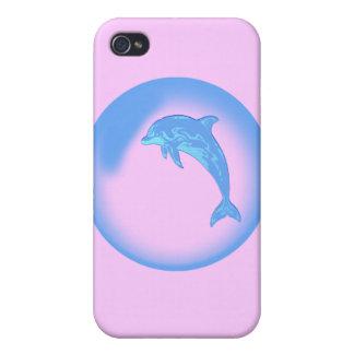 caso del delfín del iPhone 4 iPhone 4 Carcasa