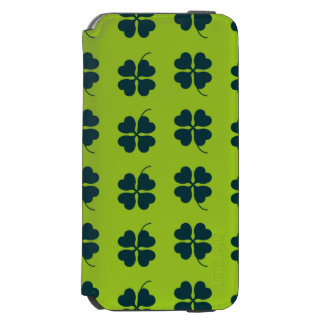 Caso del día de St Patrick Funda Billetera Para iPhone 6 Watson