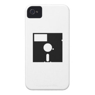 Caso del disco blando del iPhone 4 del pictograma iPhone 4 Case-Mate Cárcasas