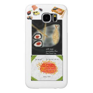 Caso del dispositivo del sushi fundas samsung galaxy s6