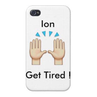 caso del emoji del iphone iPhone 4 protectores
