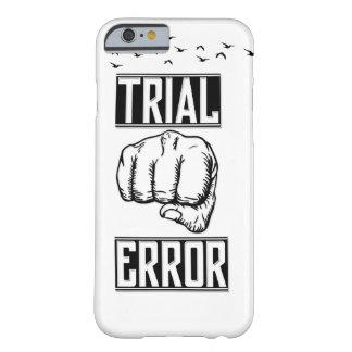Caso del ensayo y error Iphone6s Funda Barely There iPhone 6