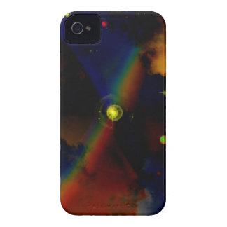 Caso del espacio exterior carcasa para iPhone 4 de Case-Mate