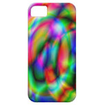 Caso del espejismo del arco iris para el iPhone iPhone 5 Protectores