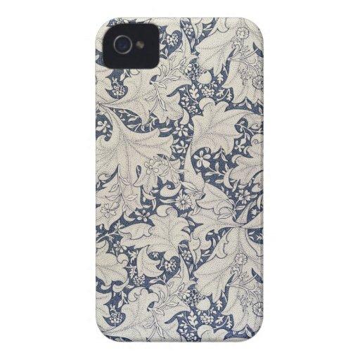 Caso del estampado de flores iPhone4 Case-Mate iPhone 4 Cárcasa
