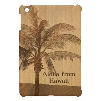 Caso del falso iPad de madera hawaiano de Koa de