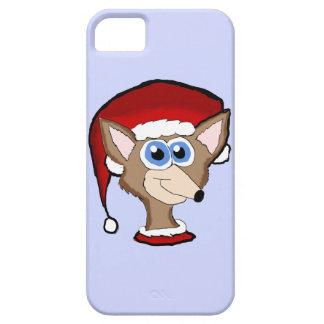 Caso del Fox Iphone 5 del navidad Funda Para iPhone SE/5/5s