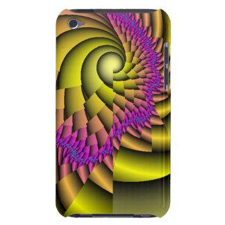 Caso del fractal de Shell de la concha para el iPod Touch Case-Mate Cobertura
