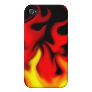 caso del fuego para los muchachos iPhone 4 funda