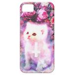 Caso del gatito iPhone 5 fundas