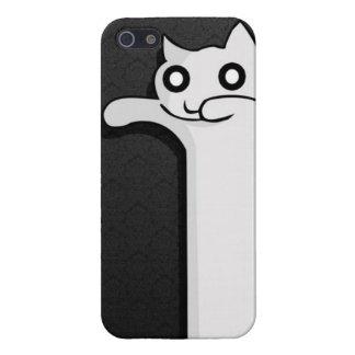 Caso del gato del zombi iPhone 5 carcasa