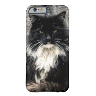 Caso del gato funda de iPhone 6 barely there