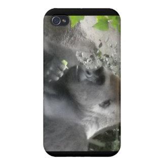 caso del gorila del iPhone 4 iPhone 4/4S Carcasas