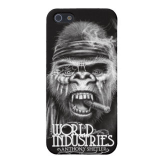 Caso del gorila iPhone4 de la batalla de Shetler iPhone 5 Fundas