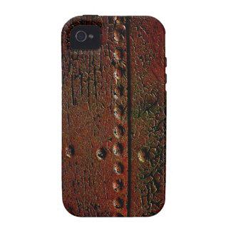 Caso del Grunge del metal para el iPhone 4 Funda Vibe iPhone 4