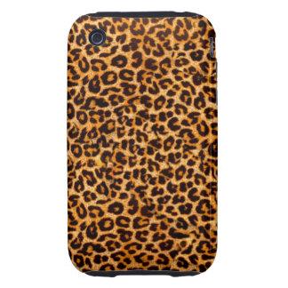 Caso del guepardo carcasa resistente para iPhone