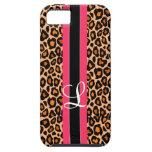 caso del guepardo iPhone 5 Case-Mate carcasa
