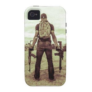 caso del Gunslinger del iPhone 4/4s iPhone 4/4S Fundas