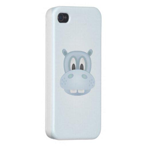 Caso del hipopótamo iphone4 iPhone 4/4S carcasas