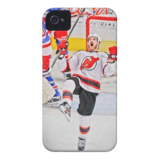 Caso del hockey iPhone5 de New Jersey iPhone 4 Cárcasa