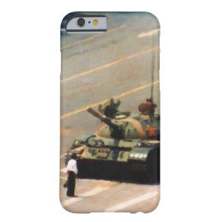 Caso del hombre del tanque funda de iPhone 6 barely there