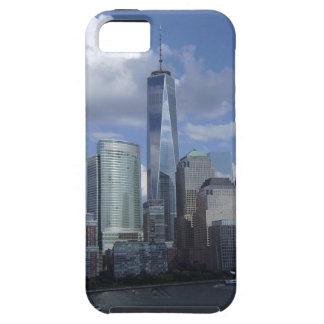 Caso del horizonte WTC del World Trade Center NYC iPhone 5 Fundas