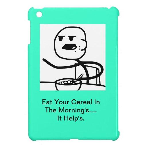 Caso del individuo del cereal iPad mini protectores
