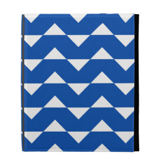 Caso del iPad 2/3/4 de Chevron - modelo del azul d