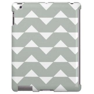Caso del iPad 2/3/4 de los gris plateados del Funda Para iPad