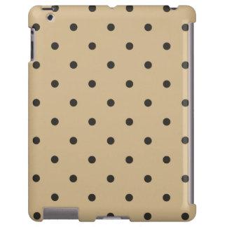 caso del iPad 2 3 4 del lunar de Brown del estilo