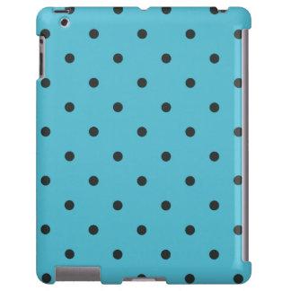 caso del iPad 2 3 4 del lunar de la aguamarina del